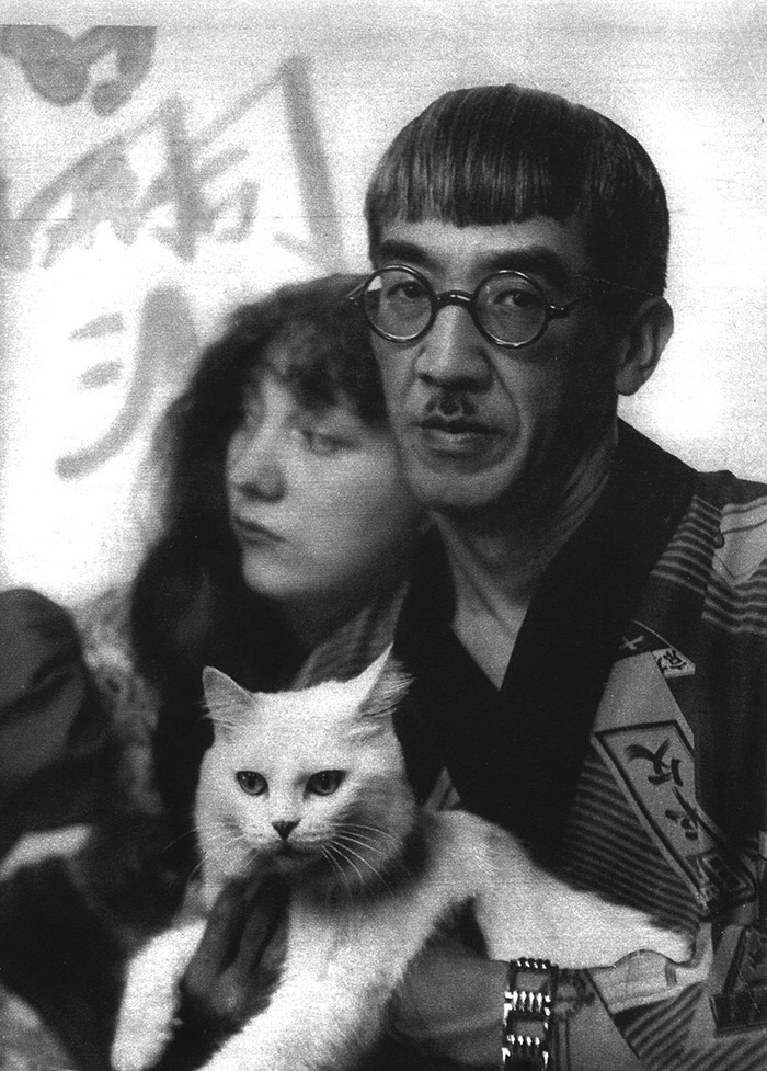 Foujita et son chat