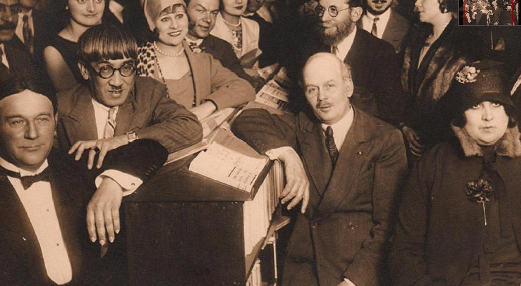 Andre Warnod et Léonard Foujita, 1925