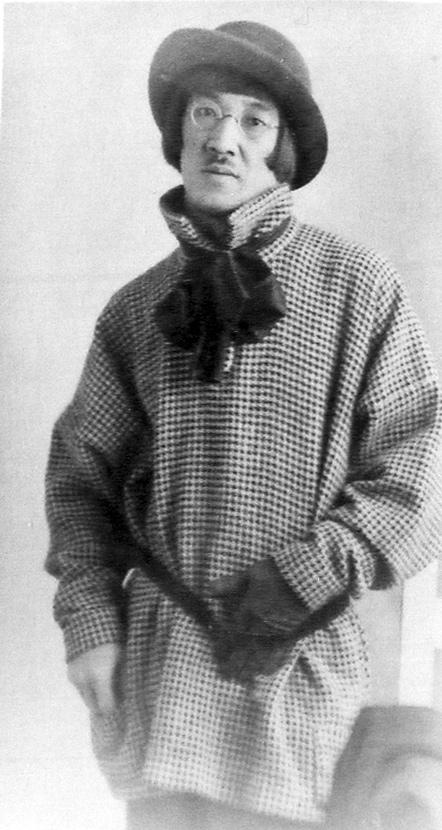 Léonard Foujita, vêtement fait main, 1913