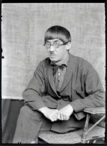 Foujita par Man Ray, vers 1922